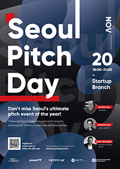 Seoul Pitch Day Poster